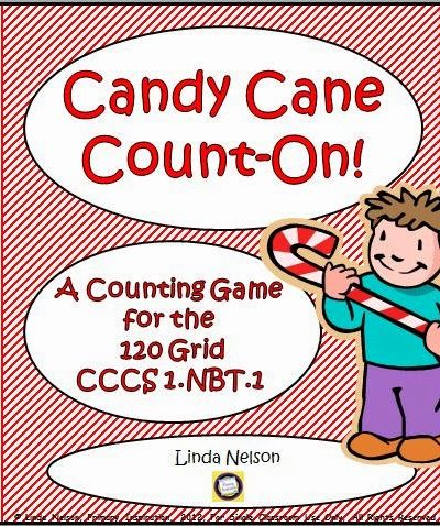 Candy Cane Count on the 120 Chart