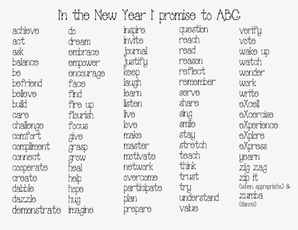 Happy New Year Word Art Craftivity - Classroom Freebies