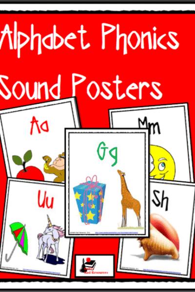 Alphabet Sound Posters from Raki's Rad Resources