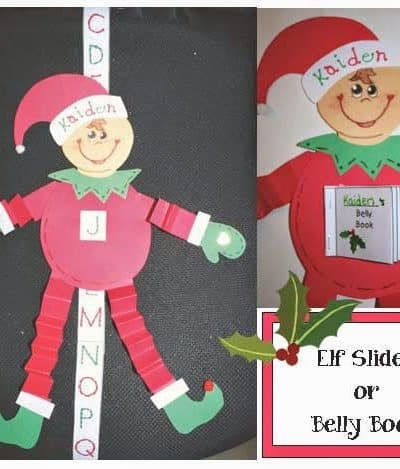 Elf Slider Craftivity