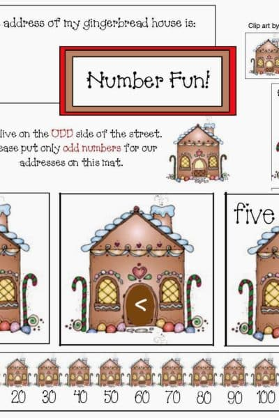 Gingerbread House Math Fun