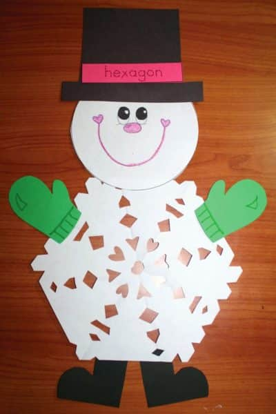2D Shaped Snowflake Patterns