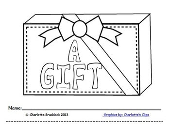 Free The Gift: an emergent reader for after Christmas