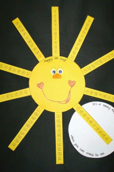 100 Day Sunshine Craft