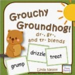 Grouchy Groundhog -R- Blends Game