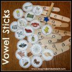 Clip A Vowel-Short Vowel Activity for Centers!
