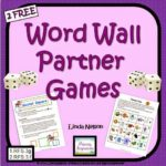 Back in Gear Again with Word Wall Words!