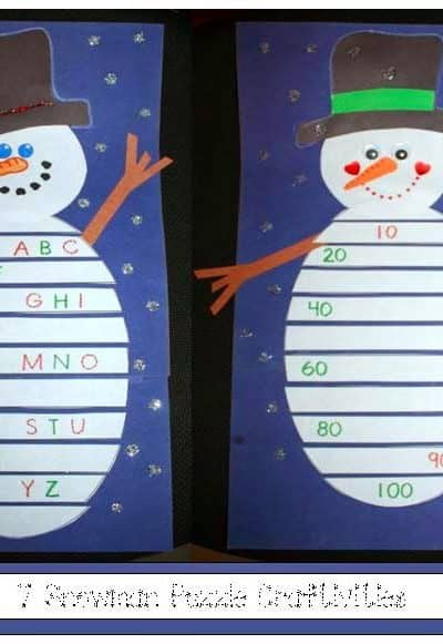 Snowman Puzzles