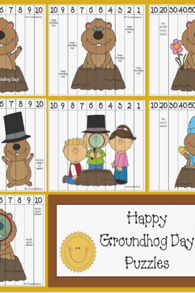 Groundhog Day Number Puzzles