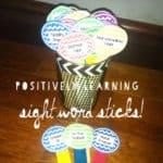 Sight Word Sticks!