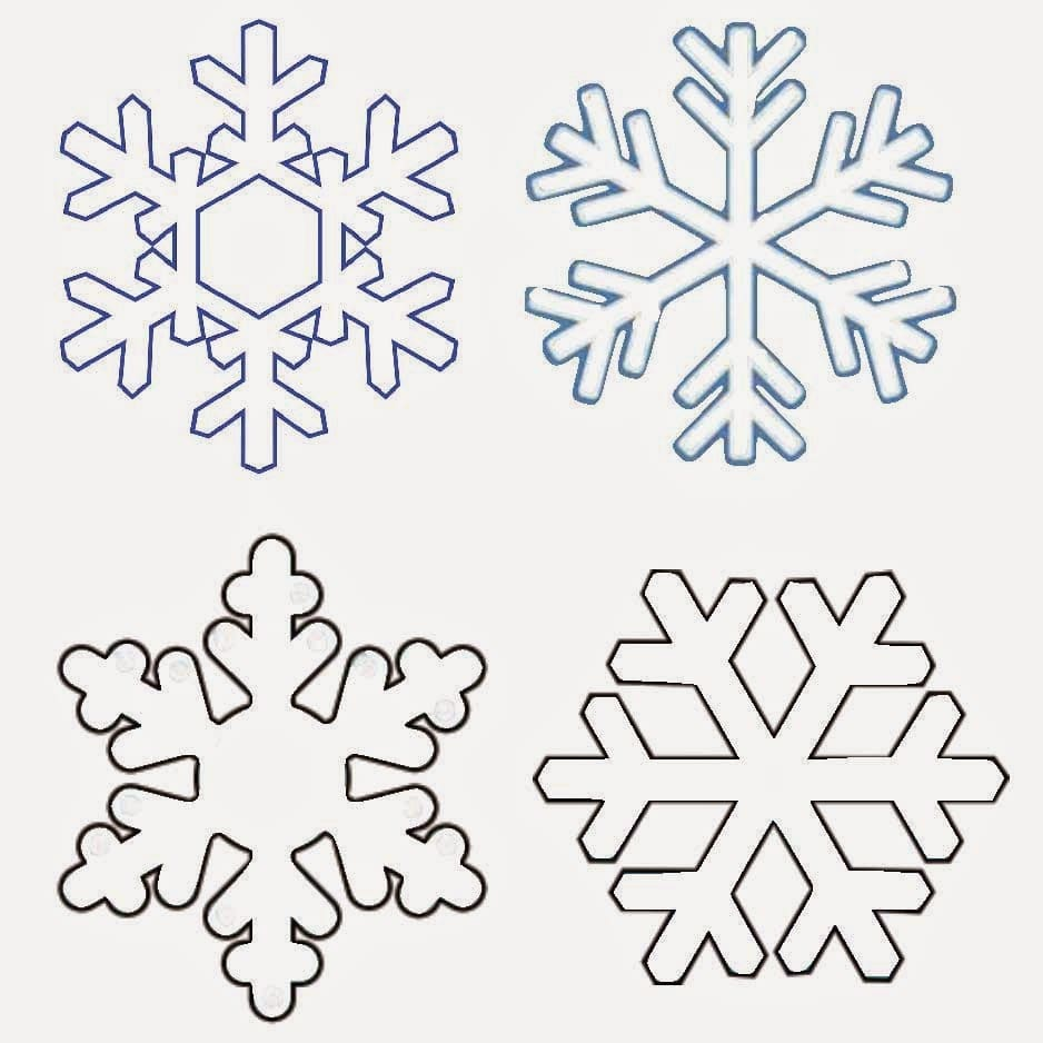 It's just a graphic of Eloquent Snowflake Patterns Printable
