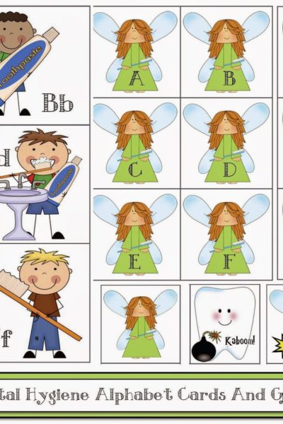 Dental Hygiene ABC Cards