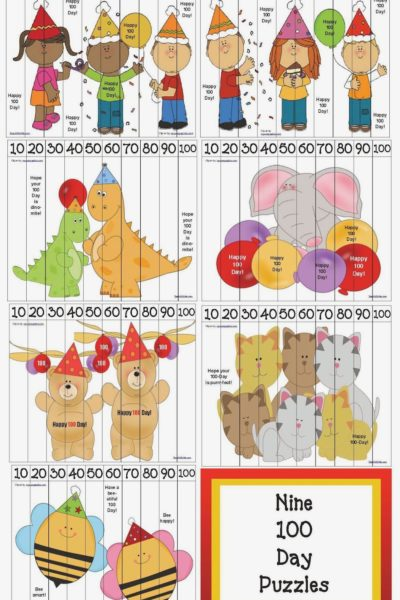 100 Day Number Puzzles