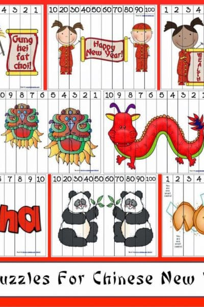 Chinese New Year Number Puzzles