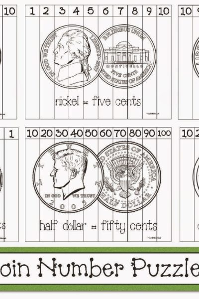 Coin-Themed Number Puzzles