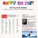 100 Day Word Challenge Game