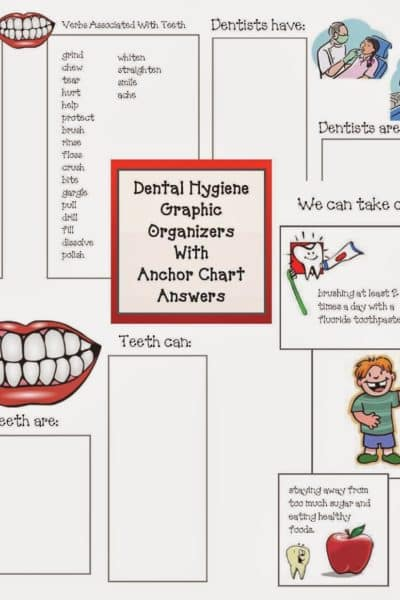 Dental Hygiene Graphic Organizers