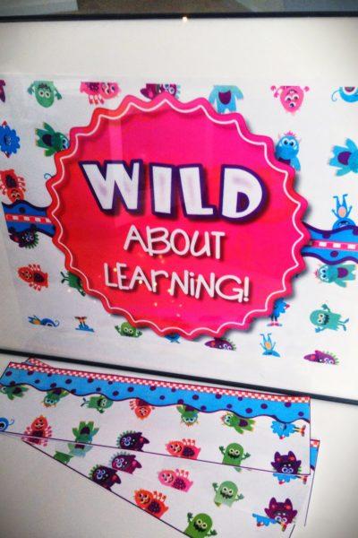 Monster Bulletin Board Set FREEBIE