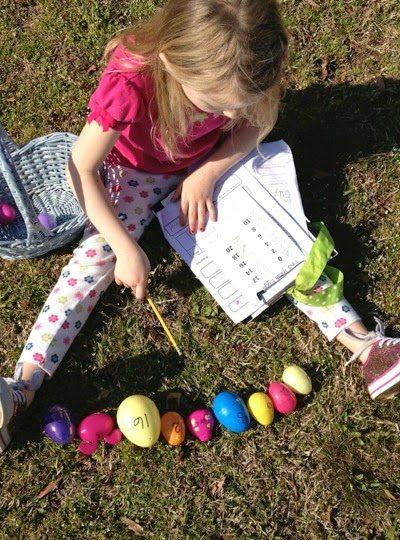 An Egg Hunt With a Math Twist!
