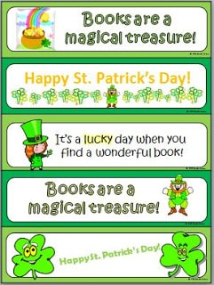 It's March – New St. Patrick's Day Bookmarks for You!