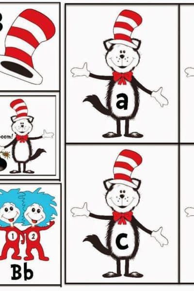 Dr. Seuss Cat in the Hat Activities