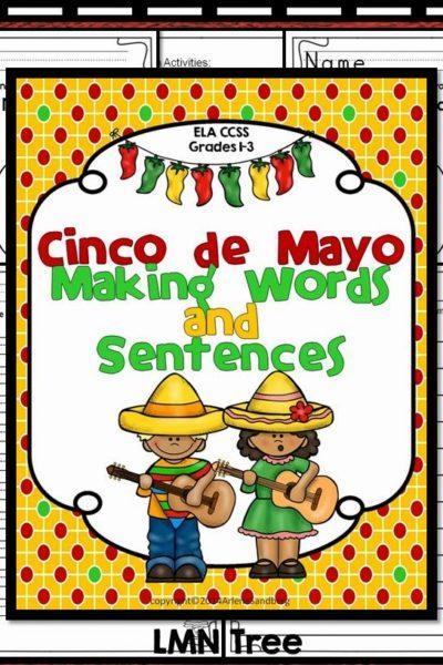 Cinco de Mayo: Making Words and Sentences