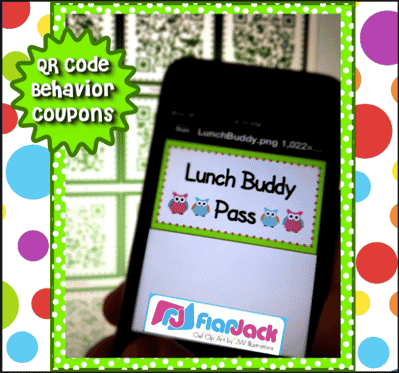 QR Code Owl-Themed Positive Behavior Coupons FREEBIE