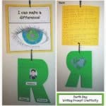 I Can Make A Difference! Earth Day Writing Prompt Craft