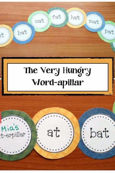 The Very Hungry Word-apillar