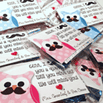 FREE Editable OWL Mustache End of the Year Gift Tags