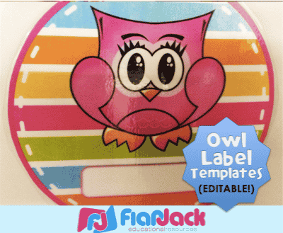 http://www.flapjackeducation.com/2013/08/hanging-editable-owl-circle-templates.html