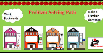 Problem Solving Bulletin Board from Raki's Rad Resources