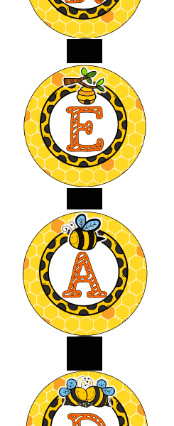 Bee-Themed Classroom Resources!