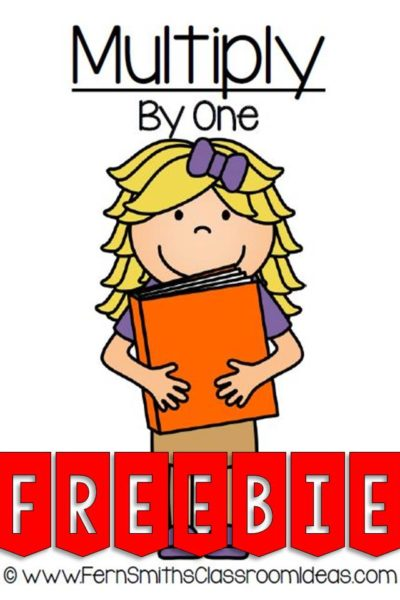 Fern Smith's FREE Multiplication One Times Tables Center Game