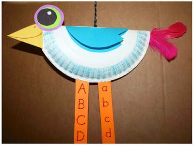 Alpha Bird Alphabet Assessment Game Craftivity