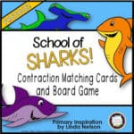 Shark Week! Contraction Game