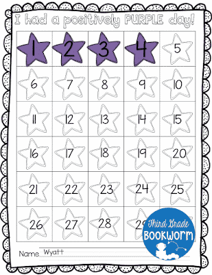 Behavior Tracking Freebie!
