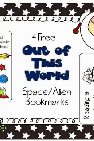 Free Space/Aliens Bookmarks