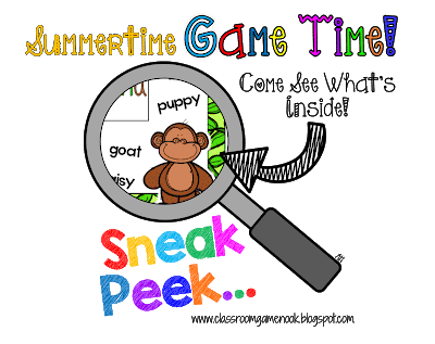 Summertime, Game Time {Surprise Freebie Game!}