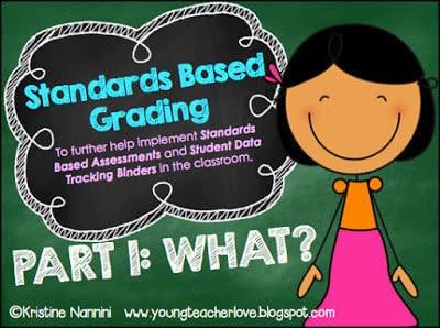 Standards Based Grading HUGE Freebie!