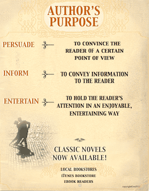 photo of Author's Purpose Definitions Poster, PDF, Ruth S., TeachersPayTeachers.com