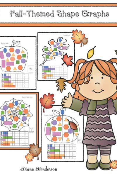 Shapely Fall-Themed Graphing Activities