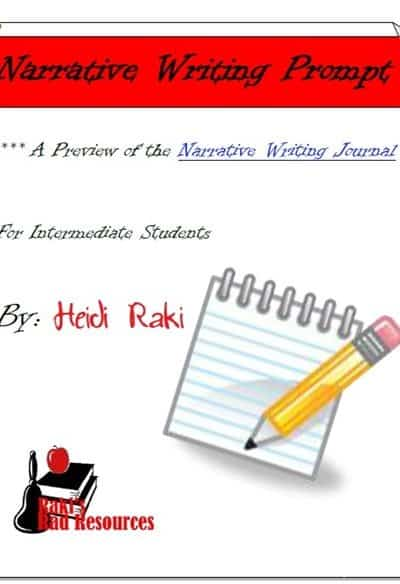 Practice Narrative Writing with this Free Writing Prompt
