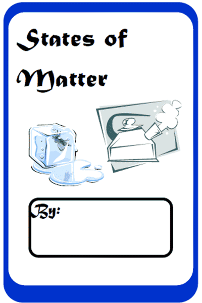 States of Matter Student Workbook