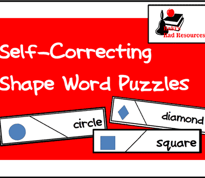 Match Up the Shape Words with Shape Pictures