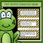 Fern Smith's FREE Frog and Toad All Year Story Starters Pocket Chart Cards