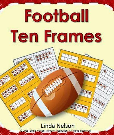 Time for Football Ten Frames!