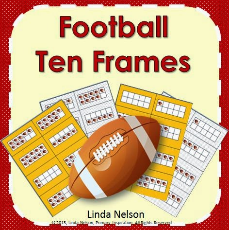 http://primaryinspiration.blogspot.com/2013/10/using-ten-frames-and-free-football-set.html