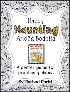 "Halloween Idiom Activity for ""Happy Haunting, Amelia Bedelia"""