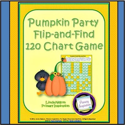 Pumpkin Party Game for the 120 Chart